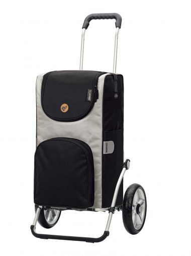thermally insulated shopping trolley