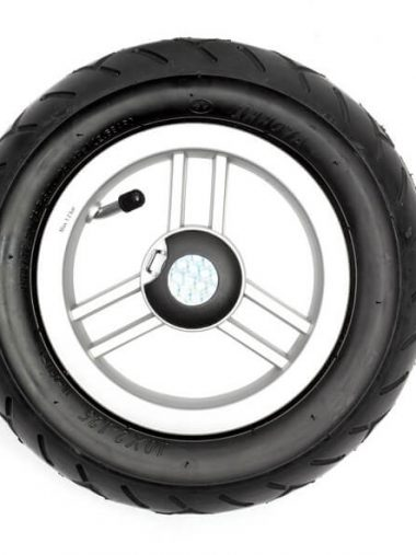 25cm ball bearing pneumatic tyre wheel