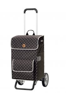 height adjustable shopping trolley