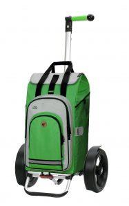 green large bike trolley
