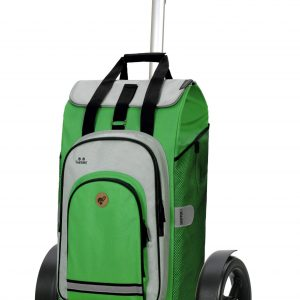 green large bike trolley