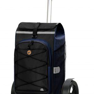 blue large bike trailer trolley