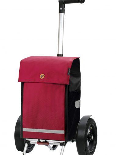 red bike trolley