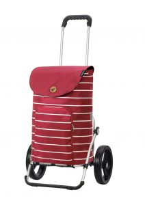 25cm wheels funky shopping trolley