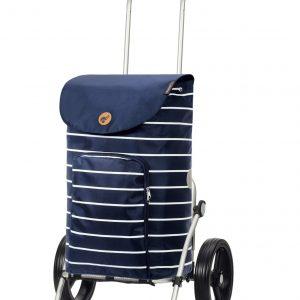 25cm wheels funky shopping trolley