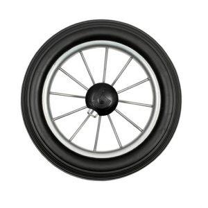 25cmmetal spoke trolley wheel