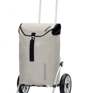 waterproof shopping trolley silver