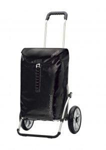 waterproof shopping trolley black
