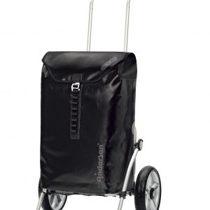 waterproof shopping trolley black
