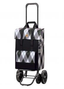 4 wheel shopping trolley
